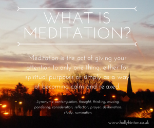 5 x 5 Minute Meditations to Help You Focus