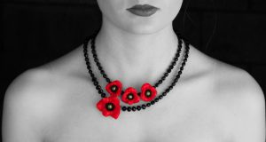 Poppy Jewellery from Deborah Jayne, in support of the Royal British Legion
