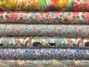 Liberty fabric in the Derbyshire Dales