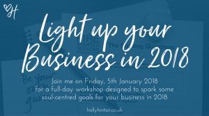 Light Up Your Business in 2018 Workshop