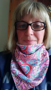 Designer, producer of fabulous neckwear or buffs as well as book keeping for small businesses and Photo