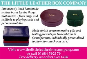 For personalised gifts try the Little Leather Box Company