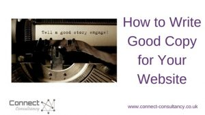 How to Write Good Copy for Websites