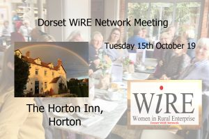 Dorset WiRE Network – October 19 Event – Coffee and Catch Up