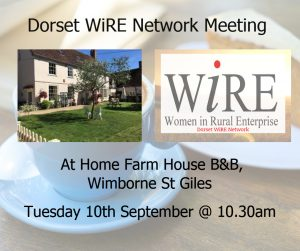 Dorset WiRE Network – September Event – Bookkeeping Tips