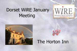 Dorset Network – January Meeting – Horton Inn