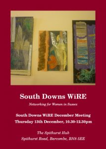 South Downs WiRE December Meeting
