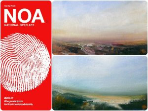 Artist shortlisted for the NOA!