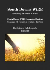 South Downs WiRE November Meeting