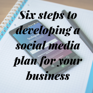 Six steps to developing a social media plan for your business