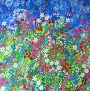 Energy, Emotion , Colour and Art with Flowers and Nature in Exhibitions