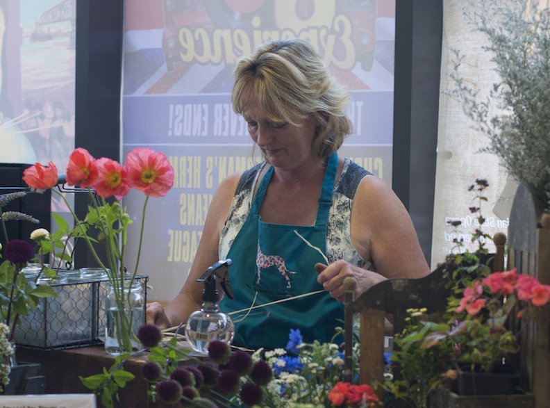 Growing and selling seasonal scented flowers in Lincolnshire Photo