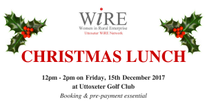 Uttoxeter WiRE Network December Meeting