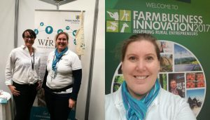 Connecting with other WIRE members matters – Farm Business Show 8-9 Nov 2017
