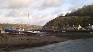 I own a seasonal business called Cafe on the Quay, Lower Town, and also a shop in Fishguard called Ty Cwtch. Photo