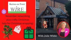 November networking – with a crafty Christmas theme