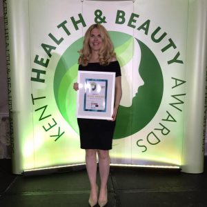 Brenchley Health Coach awarded Kent's Health Coach of the Year