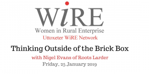 Uttoxeter WiRE Meeting – Thinking Outside the Brick Box