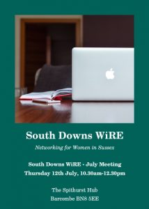 South Downs WiRE July Meeting