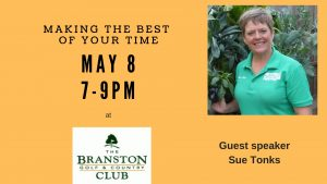 Making the best of your time – with Sue Tonks