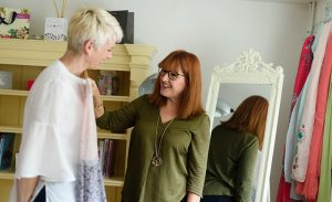 Recycle, Re-purpose, Re-wear :: A colourful wardrobe workshop with Katie Crowe